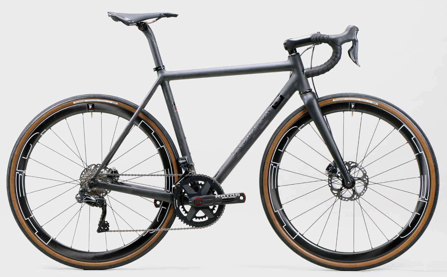 T5 All-Road shown with 700x38 tire size option, Ultegra Di2 with hydraulic discs
